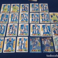 Cromos de Fútbol: LOTE 23 CROMOS DIFERENTES PANINI ADRENALYN XL 2017-18 (DEPORTIVO CORUÑA ) EQUIPOS DE FUTBOL 17 - 18. Lote 165869082