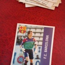 Cromos de Fútbol: ANGOY BARCELONA ED PANINI LIGA CROMO 95 96 FUTBOL 1995 1996 - SIN PEGAR - 190. Lote 165933278
