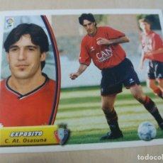Cromos de Fútbol: EDICIONES ESTE 03 04 EXPOSITO OSASUNA CROMO SIN PEGAR - 2003 2004. Lote 165967018