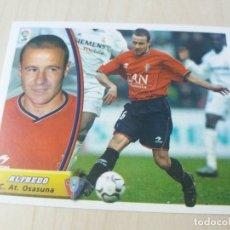 Cromos de Fútbol: EDICIONES ESTE 03 04 ALFREDO OSASUNA CROMO SIN PEGAR - 2003 2004. Lote 165967114