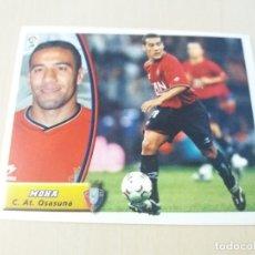 Cromos de Fútbol: EDICIONES ESTE 03 04 MOHA OSASUNA CROMO SIN PEGAR - 2003 2004. Lote 165967146