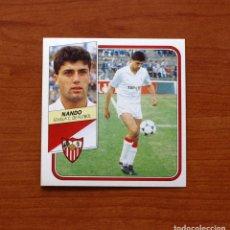 Cromos de Fútbol: SEVILLA - NANDO - EDICIONES ESTE 1989-1990, 89-90 - CROMO NUNCA PEGADO. Lote 165991692
