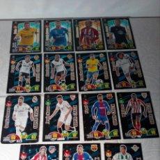 Cromos de Fútbol: 17 CROMOS ADRENALYN XL (2017 2018) PANINI - PREMIUM ORO, BALÓN DE ORO Y SÚPER CRACK - REF:1005. Lote 166042994