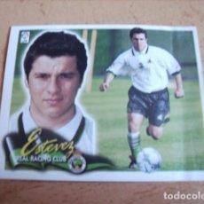 Cromos de Fútbol: ESTE 00-01 COLOCA ESTEVEZ ( RACING ) VENTANILLA. Lote 166049874