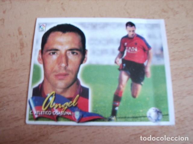 ESTE 00-01 COLOCA ANGEL ( OSASUNA ) VENTANILLA (Coleccionismo Deportivo - Álbumes y Cromos de Deportes - Cromos de Fútbol)