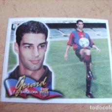 Cromos de Fútbol: ESTE 00-01 COLOCA GERARD ( BARCELONA ) RECORTADO. Lote 166050638