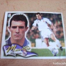 Cromos de Fútbol: ESTE 00-01 COLOCA Y DOBLE CROMO MUNITIS (REAL MADRID ) VENTANILLA. Lote 166051142