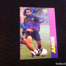 Cromos de Fútbol: CROMO DE FÚTBOL (F.C. BARCELONA 96-97) PANINI. Nº 100. AMOR. Lote 166119786