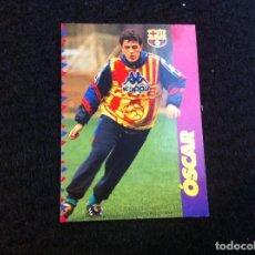 Cromos de Fútbol: CROMO DE FÚTBOL (F.C. BARCELONA 96-97) PANINI. Nº 98. ÓSCAR. Lote 166119874