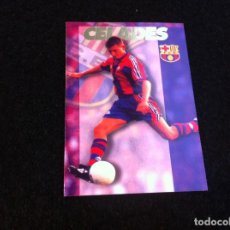 Cromos de Fútbol: CROMO DE FÚTBOL (F.C. BARCELONA 96-97) PANINI. Nº 59. CELADES. Lote 166120470