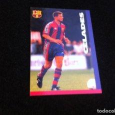 Cromos de Fútbol: CROMO DE FÚTBOL (F.C. BARCELONA 96-97) PANINI. Nº 83. CELADES. Lote 166120546