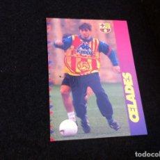 Cromos de Fútbol: CROMO DE FÚTBOL (F.C. BARCELONA 96-97) PANINI. Nº 107. CELADES. Lote 166120694
