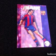 Cromos de Fútbol: CROMO DE FÚTBOL (F.C. BARCELONA 96-97) PANINI. Nº 49. BLANC. Lote 166120918
