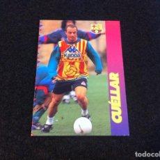 Cromos de Fútbol: CROMO DE FÚTBOL (F.C. BARCELONA 96-97) PANINI. Nº 94. CUÉLLAR. Lote 166121646