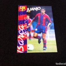 Cromos de Fútbol: CROMO DE FÚTBOL (F.C. BARCELONA 96-97) PANINI. Nº 119. JUANJO. Lote 166121806