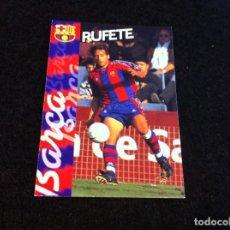 Cromos de Fútbol: CROMO DE FÚTBOL (F.C. BARCELONA 96-97) PANINI. Nº 120. RUFETE. Lote 166122022