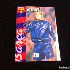 Cromos de Fútbol: CROMO DE FÚTBOL (F.C. BARCELONA 96-97) PANINI. Nº 114. ARNAU. Lote 166122118