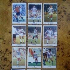 Cromos de Fútbol: LOTE 12 CROMOS REAL VALLADOLID FÚTBOL 84 ED.CANO. NUNCA PEGADOS. Lote 166307445