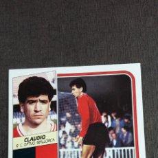Cromos de Fútbol: ESTE 89 90 1989 1990 - CLAUDIO ( COLOCA ) - R.C.D. MALLORCA ( NUNCA PEGADO ). Lote 166328434