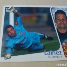 Cromos de Fútbol: EDICIONES ESTE 04 05 LAINEZ REAL ZARAGOZA CROMO SIN PEGAR - 2004 2005. Lote 166397814