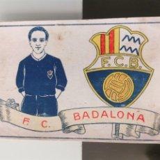 Cromos de Fútbol: CROMO FÚTBOL CHOCOLATES AMATLLER 1929 COLECCIÓN DE 50 CROMOS Nº 18 F.C. BADALONA. Lote 166652982