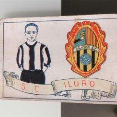 Cromos de Fútbol: CROMO FÚTBOL CHOCOLATES AMATLLER 1929 COLECCIÓN DE 50 CROMOS Nº 23 S.C. ILURO. Lote 166652994