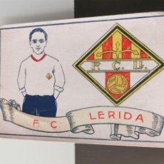 Cromos de Fútbol: CROMO FÚTBOL CHOCOLATES AMATLLER 1929 COLECCIÓN DE 50 CROMOS Nº 44 F.C. LÉRIDA. Lote 166653022