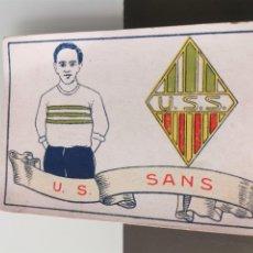 Cromos de Fútbol: CROMO FÚTBOL CHOCOLATES AMATLLER 1929 COLECCIÓN DE 50 CROMOS Nº 41 U. S. SANS. Lote 166653038