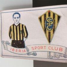 Cromos de Fútbol: CROMO FÚTBOL CHOCOLATES AMATLLER 1929 COLECCIÓN DE 50 CROMOS Nº 22 IBERIA SPORT CLUB. Lote 166653094