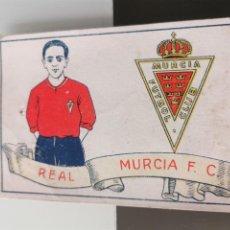 Cromos de Fútbol: CROMO FÚTBOL CHOCOLATES AMATLLER 1929 COLECCIÓN DE 50 CROMOS Nº 19 REAL MURCIA. Lote 166653114