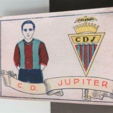 Cromos de Fútbol: CROMO FÚTBOL CHOCOLATES AMATLLER 1929 COLECCIÓN DE 50 CROMOS Nº 27 C. D. JÚPITER. Lote 166653150