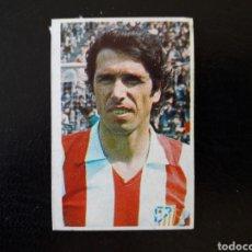 Cromos de Fútbol: ALBERTO. AT DE MADRID. N° 27 RUIZ ROMERO 1976-1977 76-77 DESPEGADO. VER FOTOS DE FRONTAL Y TRASERA. Lote 166699802