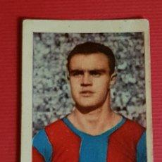 Cromos de Fútbol: RUIZ ROMERO 1955-1956 BRUGUE 49 FC BARCELONA CROMO NUNCA PEGADO 55-56. Lote 166803590