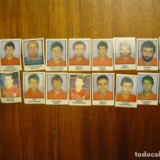 Cromos de Fútbol: REAL BURGOS - 18 CROMOS - EQUIPO COMPLETO - PATERNINA LIGA 1991/92 91/92. Lote 166807953