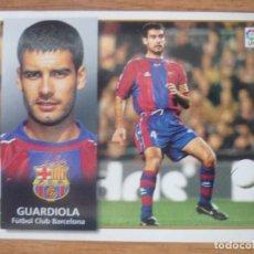 Cromos de Fútbol: CROMO LIGA ESTE 98 99 PEP GUARDIOLA (FC BARCELONA) - NUNCA PEGADO - 1998 1999 BARÇA. Lote 166833418