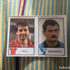 Cromos de Fútbol: CROMO SIN PEGAR BOLLYCAO 87 88 1987 1988 SOLA OSASUNA MANZANEDO SABADELL 197 174. Lote 167112348