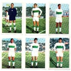 Cromos de Fútbol: ELCHE C.F. (1968/69) PAZOS, BALLESTER, CURRO, LLOMPART, LEZCANO Y EMILIO.. Lote 167237360