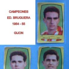 Cromos de Fútbol: FUTBOL CAMPEONES 1954 1955 / 54 55 BRUGUERA - GIJON - CROMOS A 3 EUROS LA UNIDAD NUNCA PEGADOS. Lote 55939350