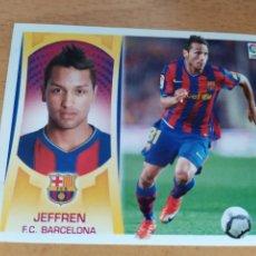 Cromos de Fútbol: JEFFREN 14 B COLOCA BARCELONA LIGA ESTE 2009 2010. Lote 167540205