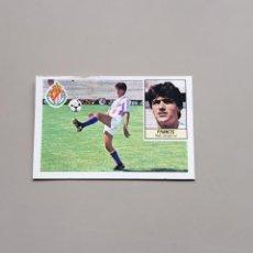 Cromos de Fútbol: CROMO IMPOSIBLE DOBLE FICHAJE 7 FRANCIS VALLADOLID LIGA ESTE 84 85 1984 1985. Lote 167569353