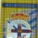 Cromos de Fútbol: ESCUDO DEL R.C. DEPORTIVO DE LA CORUÑA - Nº 55 - LAS FICHAS DE LA LIGA 2005 - MUNDICROMO.. Lote 167574396