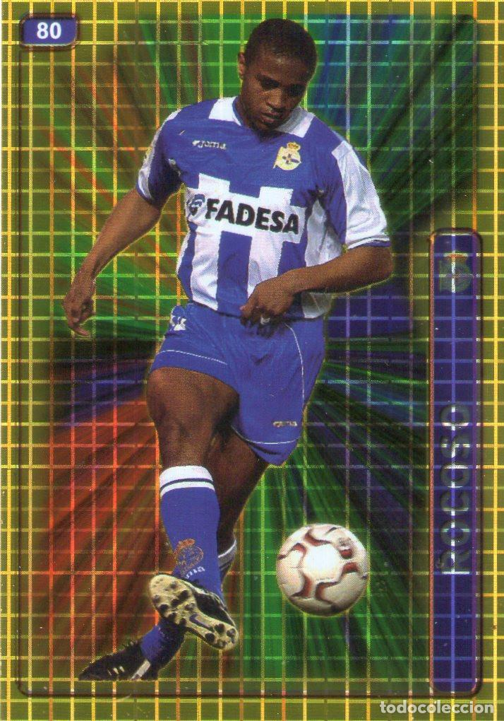 ANDRADE (DEPORTIVO DE LA CORUÑA) - Nº 80 - BRILLO CUADRADOS - LAS FICHAS DE LA LIGA 2005 -MUNDICROMO (Coleccionismo Deportivo - Álbumes y Cromos de Deportes - Cromos de Fútbol)