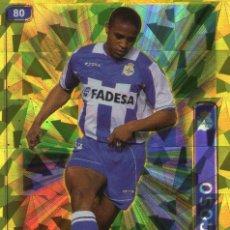 Cromos de Fútbol: ANDRADE (DEPORTIVO DE LA CORUÑA) - Nº 80 - BRILLO TRIANGULO - LAS FICHAS DE LA LIGA 2005 -MUNDICROMO. Lote 167581520