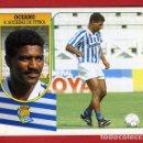 Cromos de Fútbol: CROMO FUTBOL, LIGA 1991 1994 91 92 , ESTE, COLOCA OCEANO REAL SOCIEDAD , SIN PEGAR ,ORIGINAL ,C1145. Lote 167678836