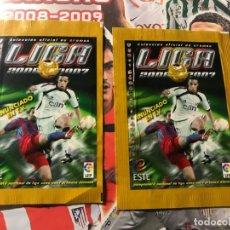 Cartes à collectionner de Football: SOBRE CROMOS FUTBOL SIN ABRIR,EDICIONES ESTE 2006-07, 06-07 LAS DOS VERSIONES. Lote 167754236