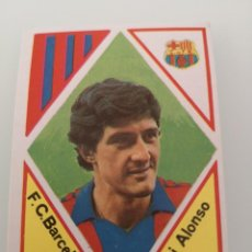 Cromos de Fútbol: PICHI ALONSO FC BARCELONA LIGA 1983 1984 EDICIONES MAGA SIN PEGAR DIFICIL . Lote 167917256