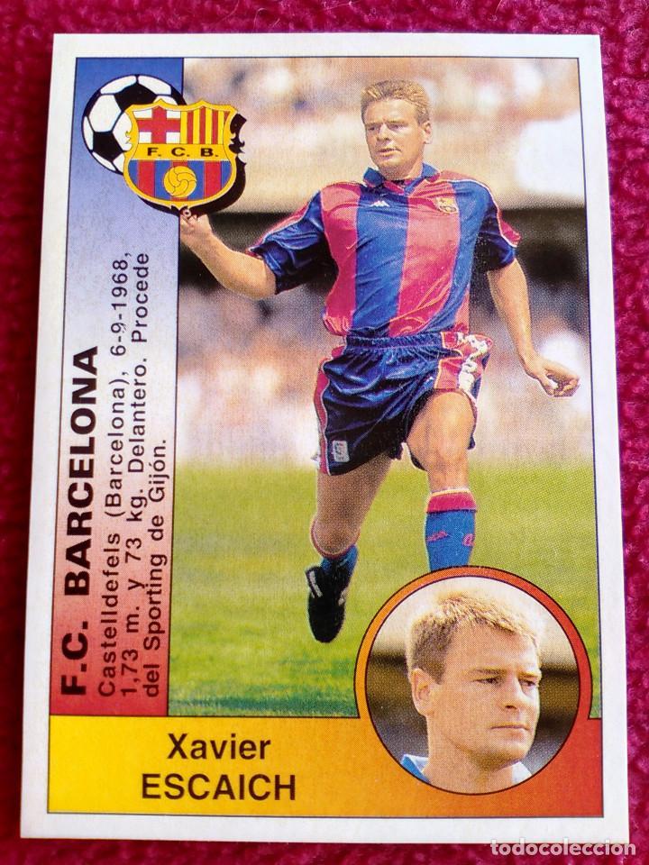 FICHAJE 365 ESCAICH BARCELONA PANINI LIGA 1994 1995 94 95 NUEVO DE SOBRE PERFECTO (Coleccionismo Deportivo - Álbumes y Cromos de Deportes - Cromos de Fútbol)