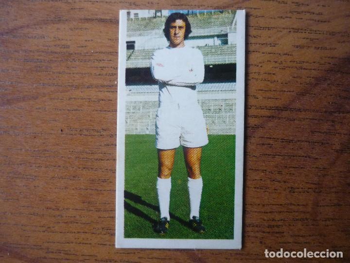CROMO LIGA ESTE 75 76 DEL BOSQUE (REAL MADRID) - NUNCA PEGADO - 1975 1976 (Coleccionismo Deportivo - Álbumes y Cromos de Deportes - Cromos de Fútbol)
