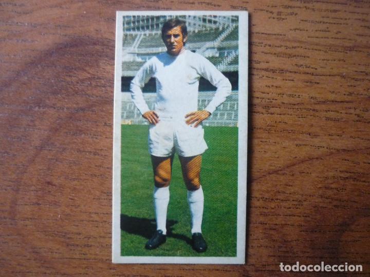 CROMO LIGA ESTE 75 76 MACANAS (REAL MADRID) BAJA - NUNCA PEGADO - 1975 1976 (Coleccionismo Deportivo - Álbumes y Cromos de Deportes - Cromos de Fútbol)
