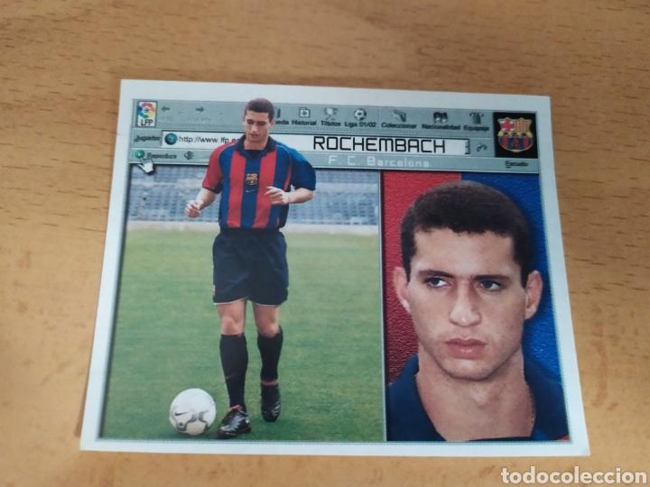 ROCHEMBACH BARCELONA FICHAJE 1 LIGA ESTE 2001 2002 (Coleccionismo Deportivo - Álbumes y Cromos de Deportes - Cromos de Fútbol)